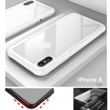 coque iphone x silicone blanc